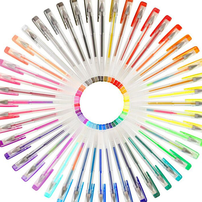 US Art Supply Jewelescent Color Gel Pen水彩笔美国代购144色