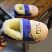 2016冬季儿童棉拖鞋包跟特价包邮男童鞋防滑加绒宝宝棉鞋女童短靴
