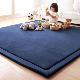 加厚家用卧室满铺房间阳台软地毯海绵垫子底垫儿童爬行榻榻米地垫