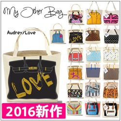 2016新作! My Other Bag 好莱坞明星街拍 帆布包 百搭 单肩包