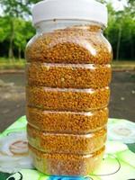 农民伯伯家自产的农家蜂花粉