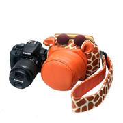 适合佳能EOS100D 200D 1300D单反相机包可爱卡通摄影内胆包套