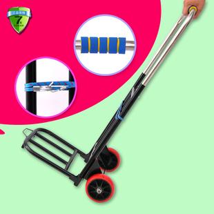 简易小拉车折叠便携式行李车家庭购物车拉水送货手推车强力拉杆车