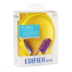 Edifier漫步者 K680耳机头戴式潮笔记本电脑耳麦游戏耳机麦克风