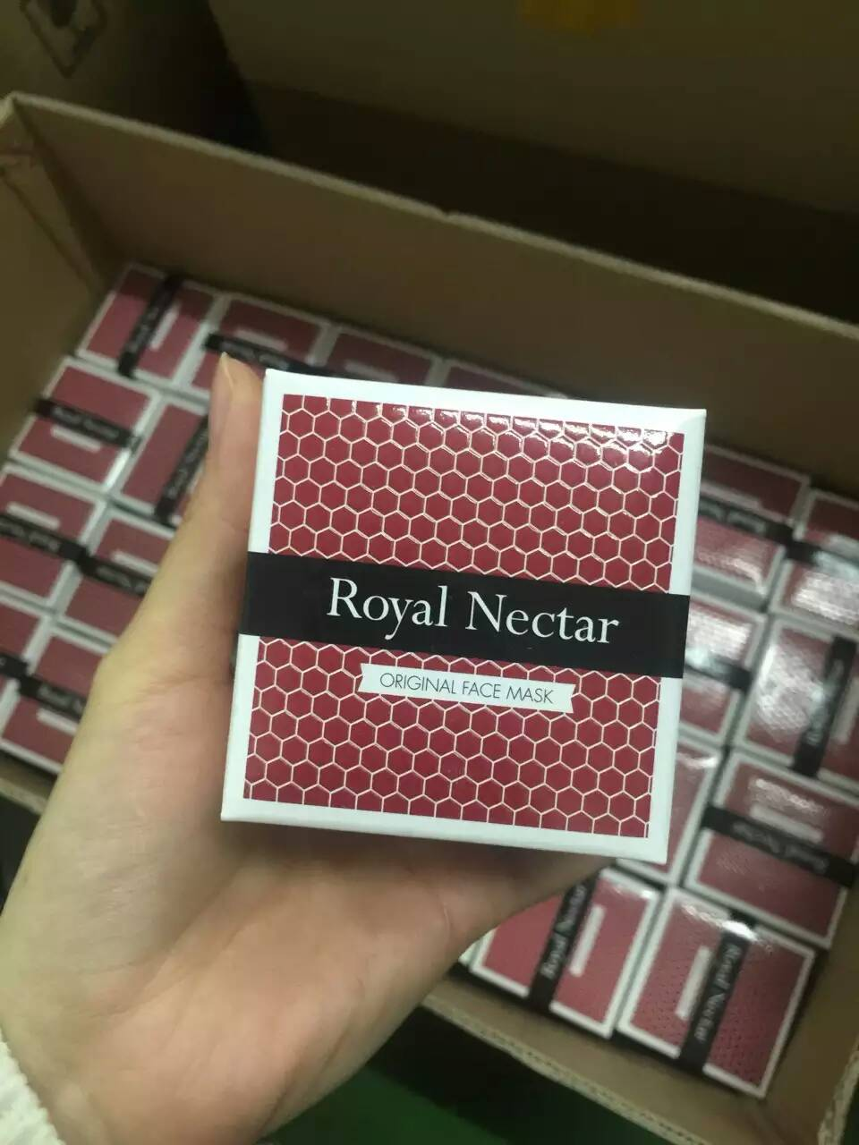 新西兰Royal Nectar皇家花蜜-蜂毒面膜 提拉紧致 抗衰老收缩毛孔