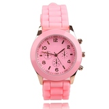 9 Colors Girls Ladies Watch Hot Jelly Candy Color Women's Wa