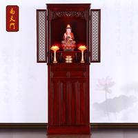 南天门68佛龛立柜带门神龛供台佛柜佛台唐式菩萨神台观音财神日式