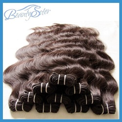 new brazilian virgin hair body wave grade7a color1b 50g/pcs