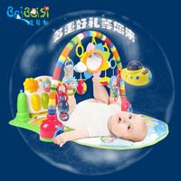 皇儿脚踏钢琴婴儿健身架新生儿音乐游戏毯宝宝玩具1岁3-6-12个月0