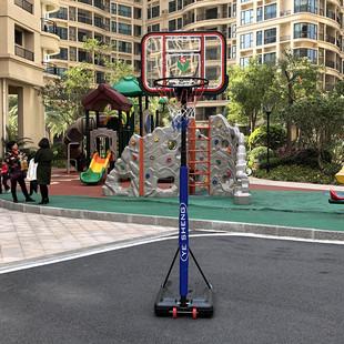 青少年室内户外家用训练篮框可升降移动儿童篮筐幼儿园篮球架