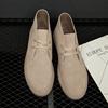 男鞋青年潮鞋真皮鞋男士板鞋短靴潮流磨砂皮高帮鞋沙漠靴
