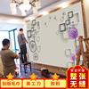 现代简约3D立体客厅电视背景墙壁纸影视墙壁画卧室墙纸墙布