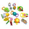 澳贝宝宝10只礼盒套装手摇铃牙胶组合奥贝新生婴儿玩具0-1岁