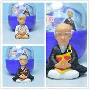 日本动漫 一休 一休哥 方丈 扭蛋玩具工作模型摆件摇头娃娃