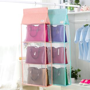 包包收纳挂袋防尘挂袋立体多层衣橱柜挂包袋杂物储物袋特大号