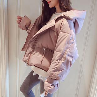 东大门棉衣羽绒棉服女短款面包服2018棉袄冬季外套ins潮
