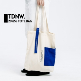 todaynowind 2016ss tote bag托特包全棉单肩手提帆布袋贴布口袋