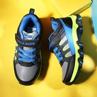 男童运动鞋透气春秋户外登山运动鞋防滑儿童休闲鞋透气中大童男鞋