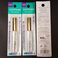 日本大创Daiso明星产品 睫毛雨衣定型液 防水防晕拉长透明睫毛膏