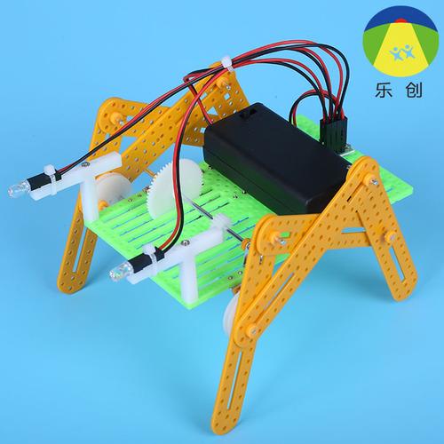 """小学生守则小v守则diy科学实验科技小拼装玩具发明模型机器人手工""""新中小学生展板物理图片"""
