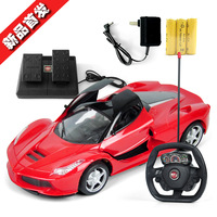 儿童玩具车方向盘大号法拉利遥控车漂移充电遥控汽车男孩赛车玩具