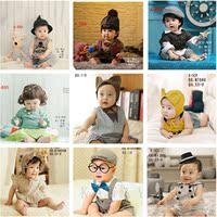 2016新款韩版特价百天宝宝男孩儿童摄影服装影楼照相拍照正版服饰