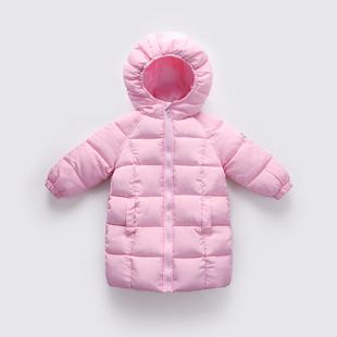 反季儿童羽绒棉服加厚中长款男童棉衣女童棉袄婴幼儿宝宝童装