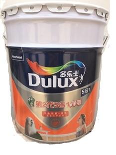 多乐士第二代五合一净味竹炭墙面漆18L内墙乳胶漆第2代5合1环保漆