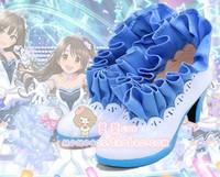 偶像大师 灰姑娘女孩 星光舞台 兰杏凛卯月全员cosplay鞋cos靴子