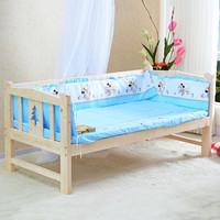 特价实木儿童床带护栏分床神器小床拼床学生床婴儿床6~14岁宝宝床
