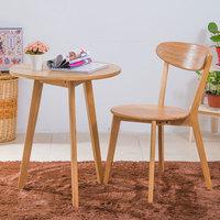 简约家用日式白橡木餐椅成人纯实木现代时尚休闲椅电脑椅靠背椅子
