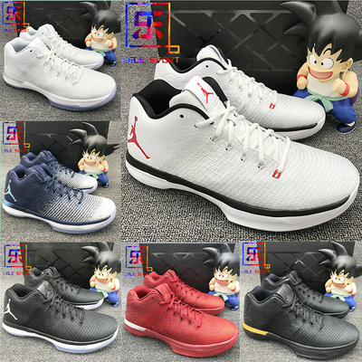 Air Jordan XXX1 LOW AJ31 乔31低帮 纯白897564-001-002-100-400