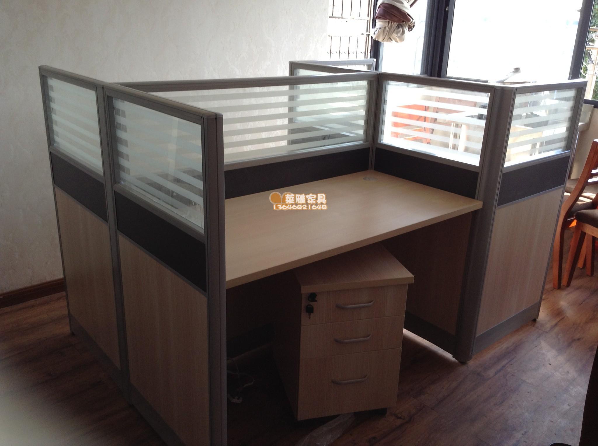 办公家具屏风办公桌员工位组合办公桌带安装图3232pp3232exd图纸图片