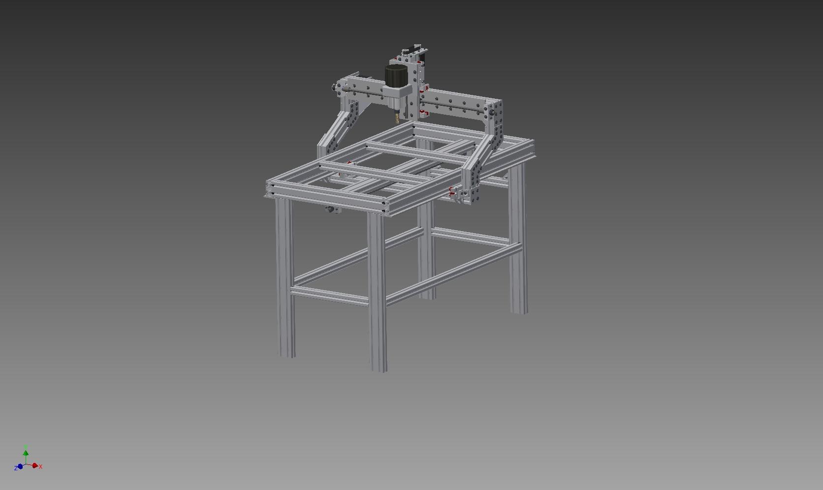 雕刻机cncDIY资料三维设计图纸图纸很详细剧情密秘机床图片