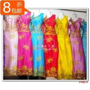 198 de colis de la thaïlande une robe de costumes / dai vêtements