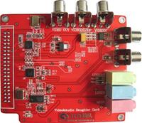 数字媒体扩展模块RM3-DAV TVP5150 ADV7179 AIC23【北航博士店
