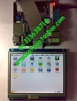256M升级版mini2440 群创5.6寸触摸屏LCD 超12DVD【北航博士店