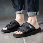 New lovers, word slippers, men and women, non slip personality, summer indoor trends, students thick bottom leisure beach sandals