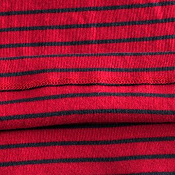 外贸原单 欧美大牌 纯棉高领长袖弹力修身条纹打底衫T恤 女装。 - connine24 - connine24