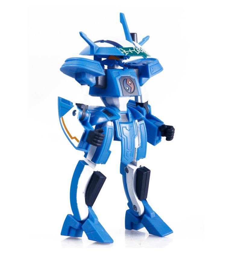 LDCX Smart Imagination genuine children's toys Universe Star God 5 inch robot 8032 Mercury God - Tai Xisi