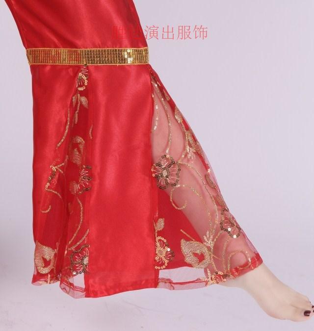 Национальный  костюм Новые Янгэ осенью одежда/костюмы одежда одежда/костюмы/костюм/танго этап