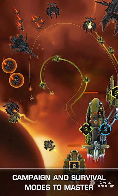 【免費模擬App】防御舰队欧米茄-APP點子