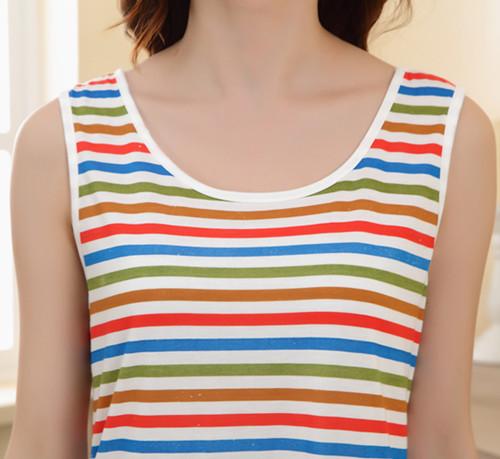 Ночная рубашка Коттон Pajama юбка костюм одежды милый Paul Frank женщин пижамы двухсекционный пижамы с короткими рукавами дома износа
