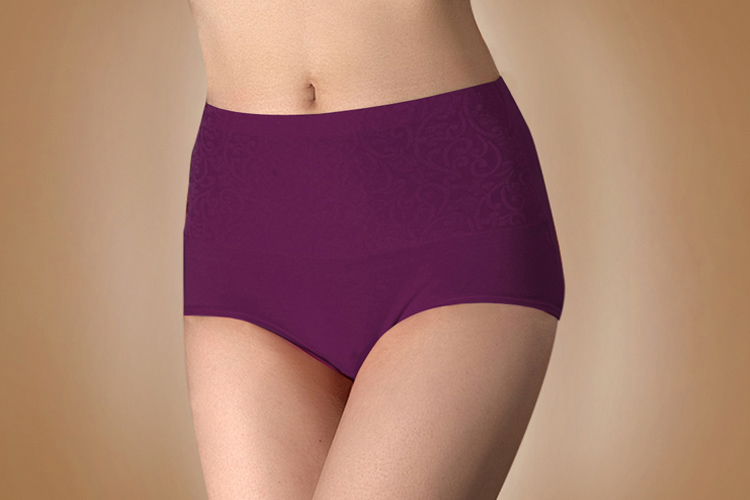 Sexy shaping waist hip big yards ladies colored abdomen Antarctic Ms. Cotton cotton boxer briefs