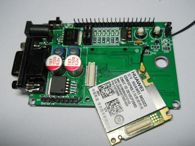 Макетная плата MCU Новый Huawei mg323 stc12c5a60s2 GSM/GPRS развития Совет/плиты/Strip 51 Однокристальные компьютер