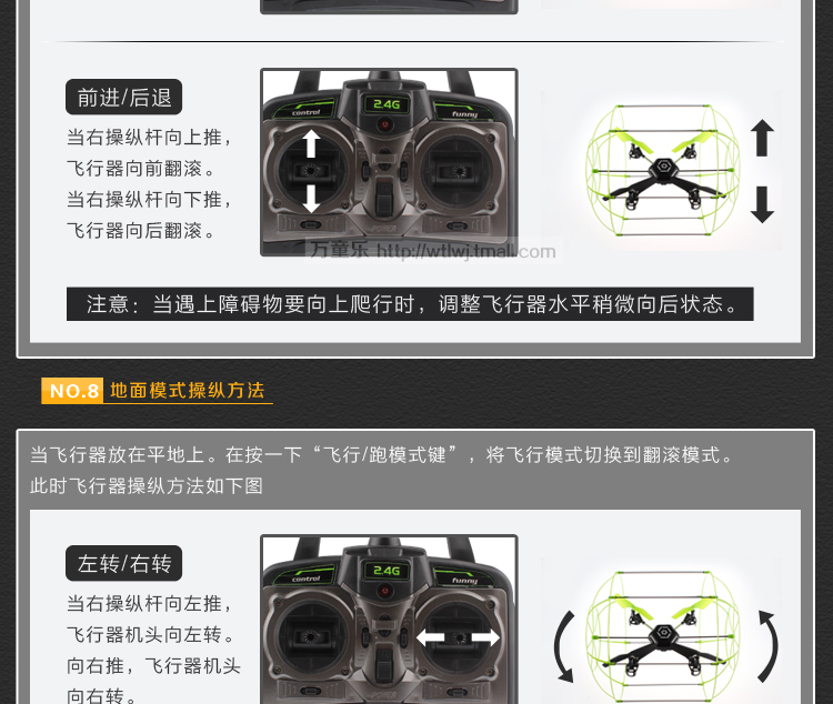 Hendy quadrocopter novice recommend Airplanes shatterproof four rotor aircraft children toy
