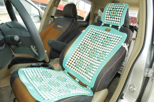 车夏季凉垫按摩坐垫 带按摩珠子 车用PVC塑料坐垫 单片 俊徽