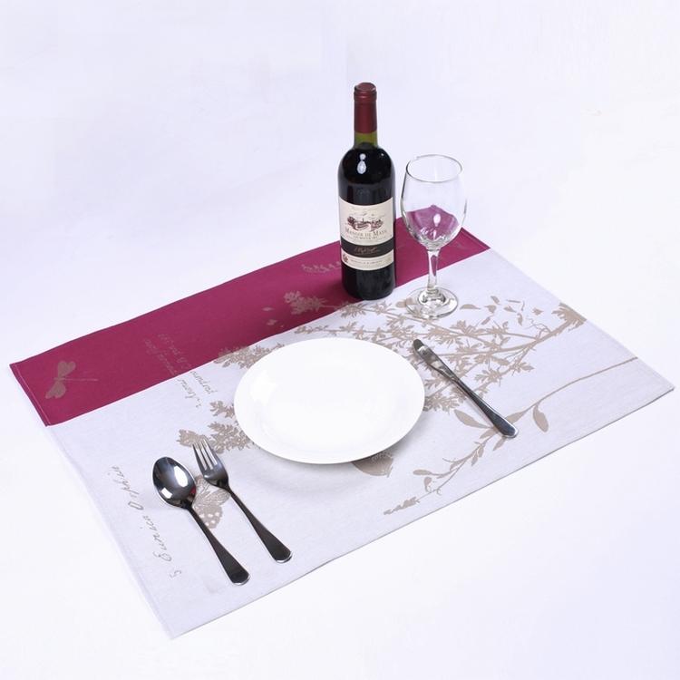 【学院派】皇家植物图集 RMN系列 餐垫小桌布 - 法国制造MadeinFrance - 法国制造