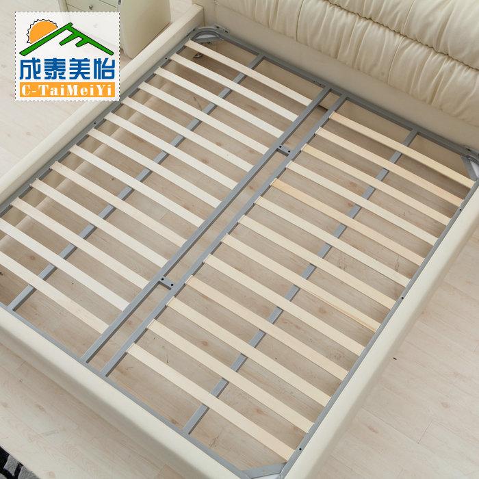 кожаная кровать Тай Mei yi кожаные кровати кровати кожаные кровати мягкие кровати кровать 1,8 м кожа обивка j049