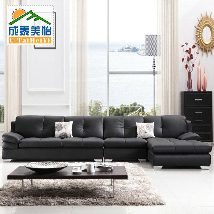 Кожаный диван 2039